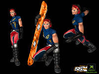 SSX Tricky Character Art Gallery 03